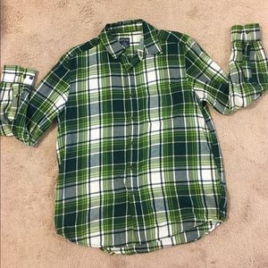 Awesome Green Plaid Flannel